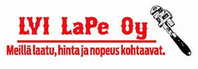 LVI LaPe Oy - LVI-alan palvelut ammattitaidolla
